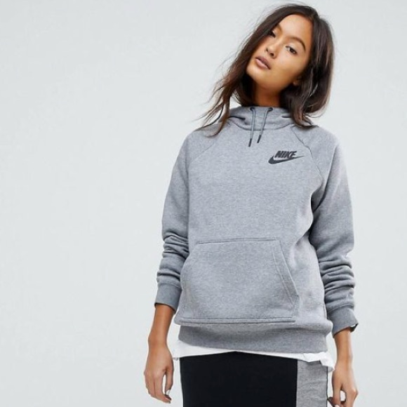 8ad43f4afb31 NWT Nike Rally Pullover Hoodie Grey Small